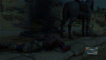 Metal Gear Solid V: The Phantom Pain D-Horse