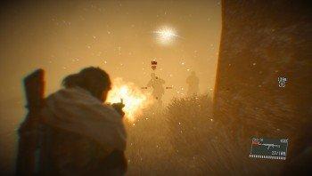 Metal Gear Solid V: The Phantom Pain Sandstorm