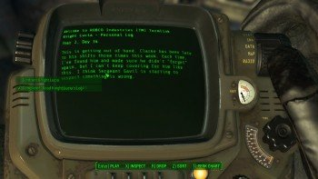 Fallout 4 - Duty of Dishonor - Reading Knight Lucia's Log