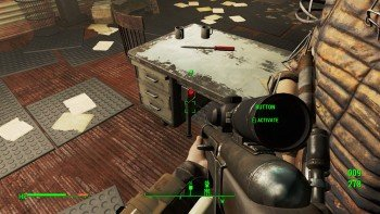 Fallout 4 - Getting a Clue - Red Button Clue