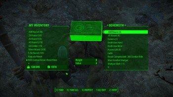 Fallout 4 - How to Easily Kill Behemoths - Loot