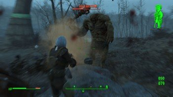 Fallout 4 - How to Easily Kill Behemoths - Run in Circles