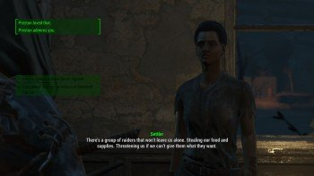 Fallout 4 - Raider Troubles at Oberland Station - Oberland Station Settler