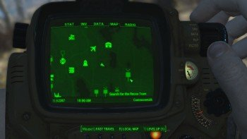 Fallout 4 - The Lost Patrol - Search First Distress Signal