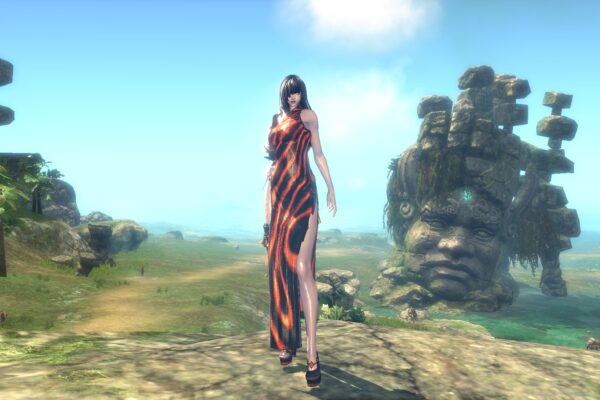 Blade&Soul - Red Specter Costume - Gon Female