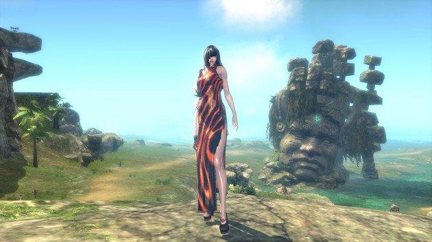 Blade&Soul - Red Specter Costume - Gon Female
