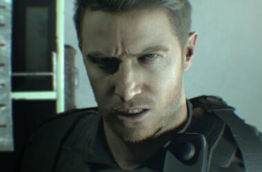 Chris Redfield's new face