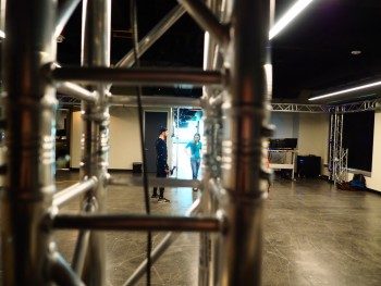 Crystal Dynamics: Motion Capture stage