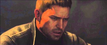 """Chris Redfield be like """"What?"""""""