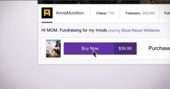 Twitch Buy Button