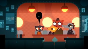 night in the woods town