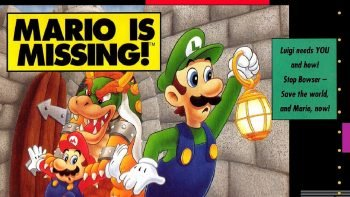 Mario is missing Nintendo Quiz
