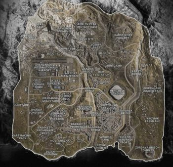 activision blizzard map warzone