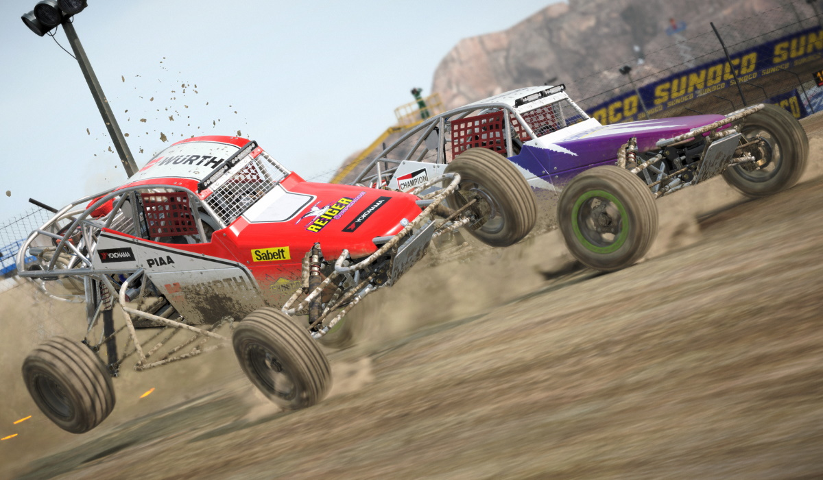DiRT 5 buggy racing