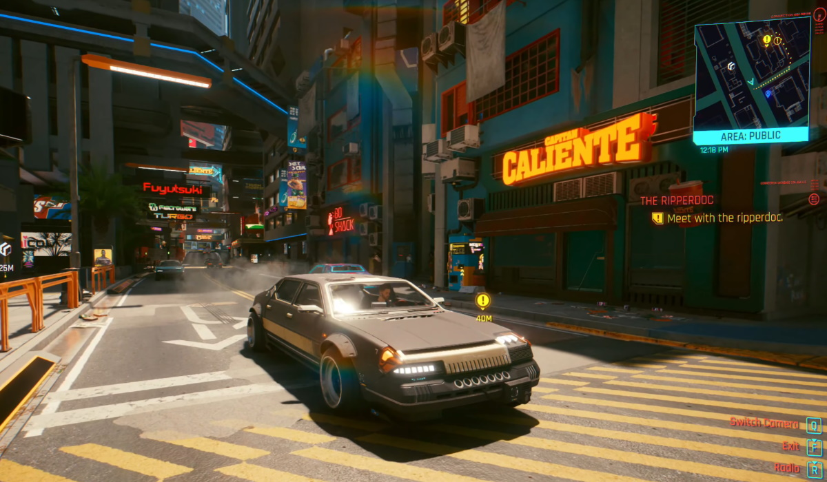 Cyberpunk 2077 gameplay open world