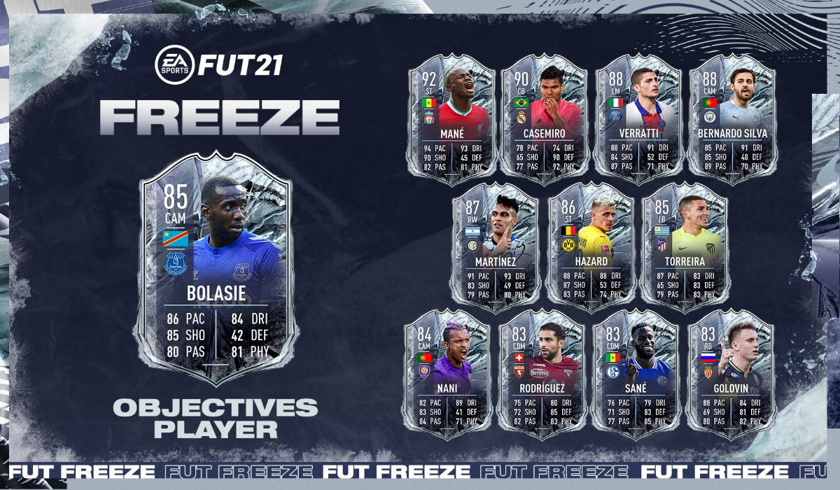 FIFA 21 Icon Swaps Freeze promo