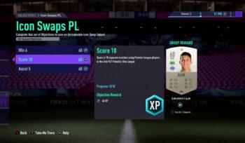 FIFA 21 icon swaps 2 objectives