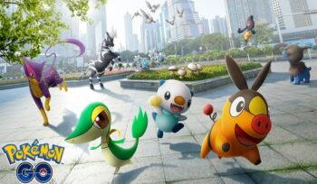 Pokémon GO city screenshot