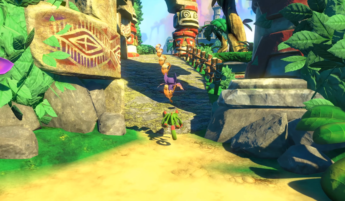 yooka-laylee gameplay