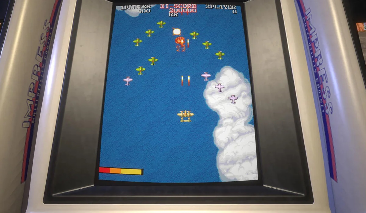 Capcom arcade stadium cabinet