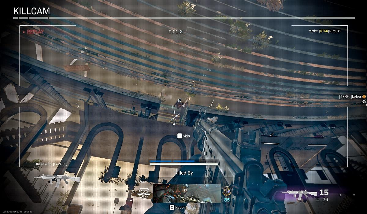 Call of Duty Warzone gas mask glitch no clip Stadium