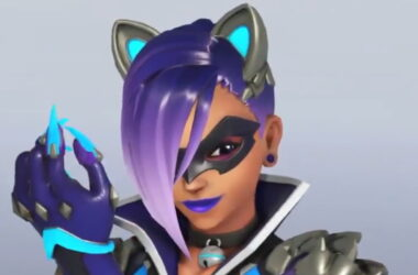 Overwatch anniversary event Sombra skin feature