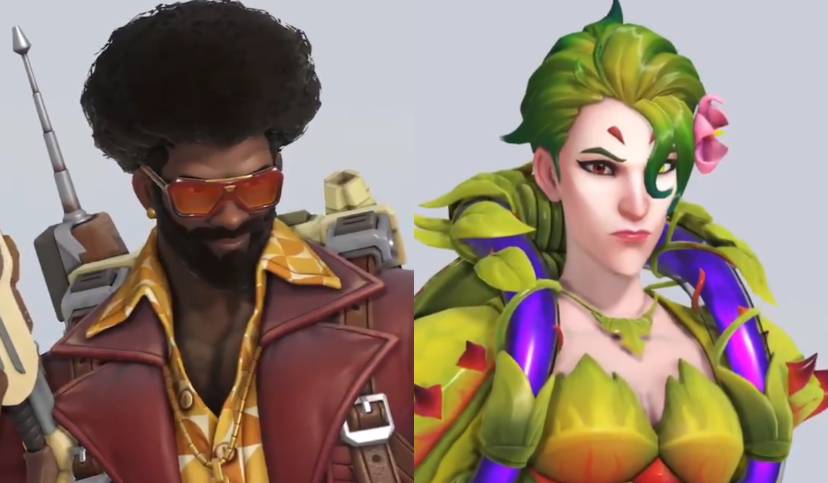 Overwatch anniversary event baptiste and moira skins