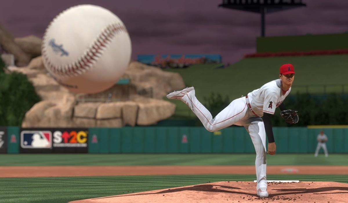 MLB 21 sony pitching screenshot