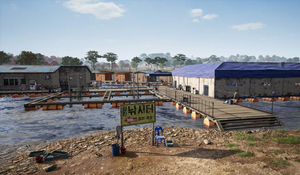 PUBG Taego new map fishing dock