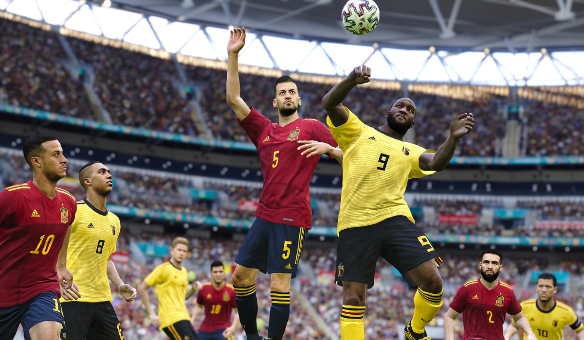 pro evolution soccer 2022 free to play spain belgium