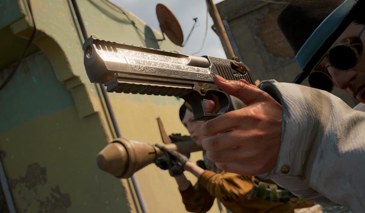 PUBG Battlegrounds deagle rocket launcher gameplay