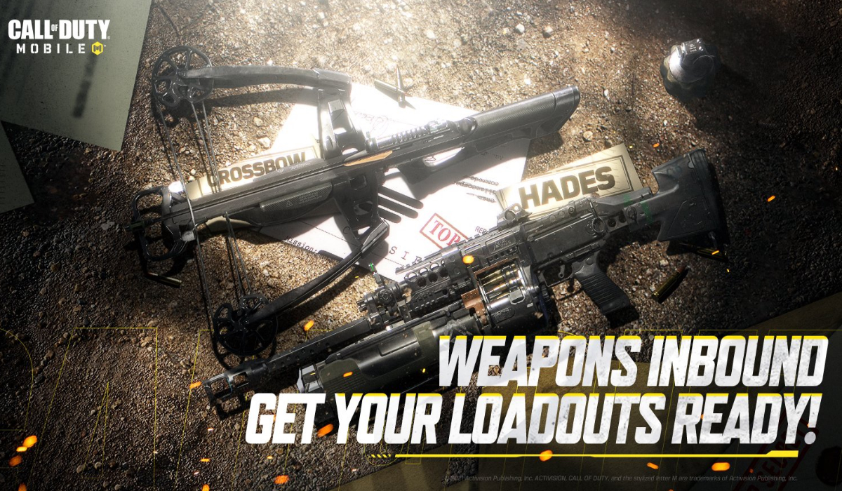cod mobile season 7 new weapons crossbow hades