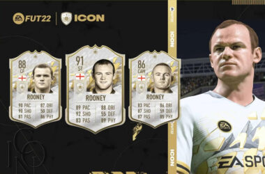 FIFA 22 icons rooney base prime moments
